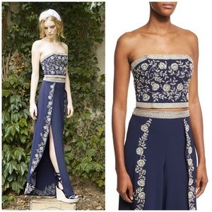 """Alice + Olivia """"Seraphina"""" cropped bustier top 4"""